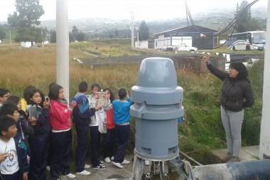 Estudiantes en Llio